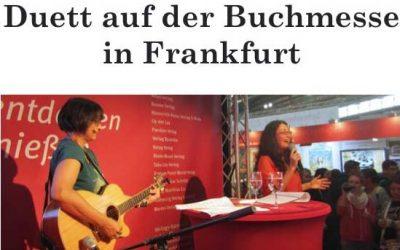 Buchvorstellung auf der Frankfurter Buchmesse